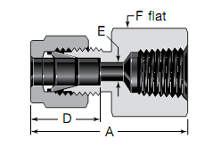 Swagelok Female Connectors Substitute