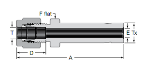 Swagelok Long Reducers Substitute