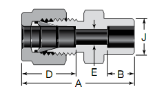 Swagelok Tube Socket Weld Connectors Substitute