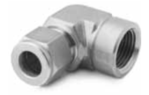 Double Ferrule Elbow Tube Fittings Dubai