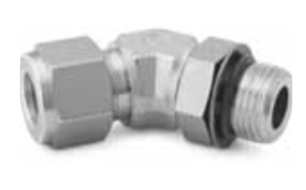 Double Ferrule Elbow Tube Fittings Export
